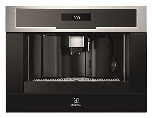 Electrolux EBC54524OX - Cafetera (Integrado, Máquina de café en cápsulas, 1,8 L, Molinillo integrado, 1350 W, Negro, Acero inoxidable)