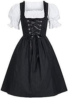 [アルトコロニー] コスプレ 衣装 メイド 服 半袖 ワンピース ドレス ロリータ 可愛い ゴスロリ ホワイト S ~ 5XL