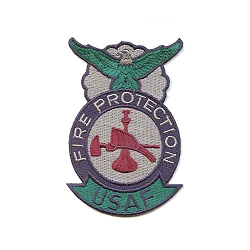Air Force Fire Protection ABU Sew On Badge (Bugle Hat & Axe)
