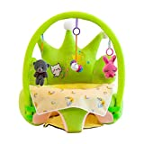HAOXUBabysitz Sofa Niedlichen Cartoon-Baby-Sofa mit Füllung Baumwollfindung Sitzen Sitzen Sitzen Lernstuhl mit Rod Toys Kinder Weiche Sitzplatz