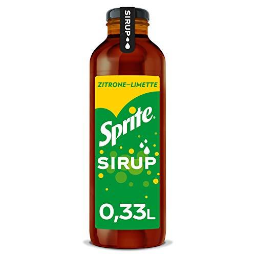 Sprite Sirup Zitrone, (1 x 330 ml) - 1x Flasche ergibt bis zu 5 Liter Fertiggetränk