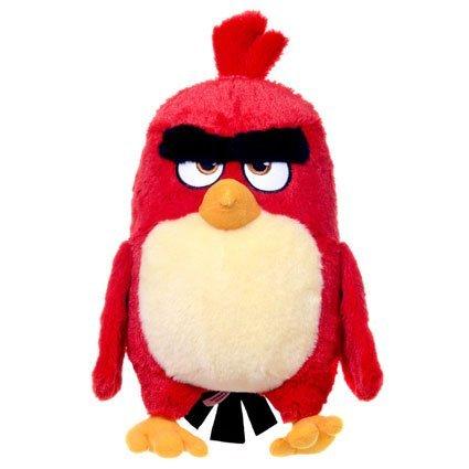 Angry Birds la película - Peluche Red, Pajaro Rojo 26cm Calidad Super Soft