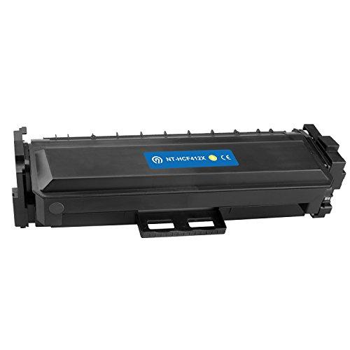Original NINETEC NT-HCF412A Toner-Kartusche Yellow kompatibel mit HP CF412A 305A / X