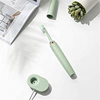 電動歯ブラシ、ソニック歯ブラシ、IP7防水防塵6ブラッシングモードのUSB充電は大人の男性と女性3ブラシヘッドに適した中から選択します (Color : B)