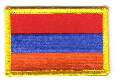 Flaggen Aufnäher Patch Armenien Fahne Flagge NEU