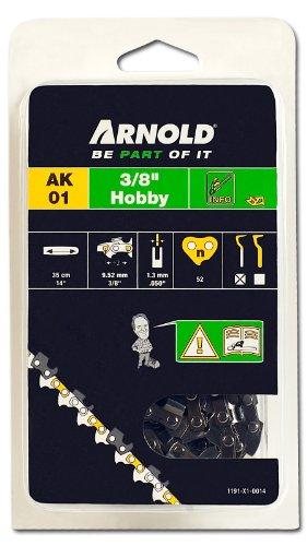Arnold Sägekette 3/8 Zoll Hobby, 1.3 mm, 52 Treibglieder, 35 cm Schwert 1191-X1-0014
