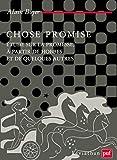 Chose promise - Étude sur la promesse, à partir de Hobbes et de quelques autres