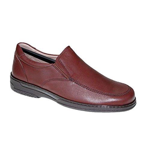 Primocx Zapato Hombre Gomas Especial Para Diabéticos Extra Cómodo EN Marrón