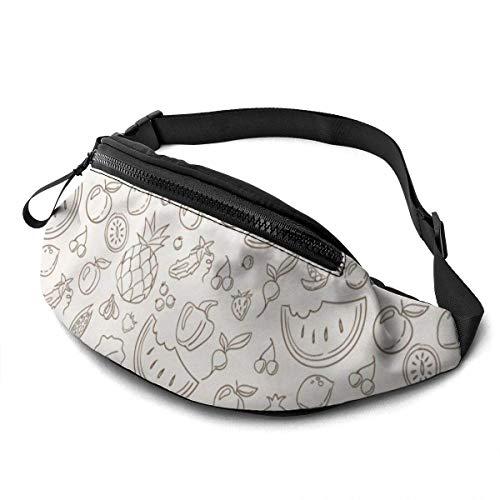 Vegetables Stock Sport Waist Bag Pack,Fitness Exercise Belt Bags Camel,Correa Ajustable con...
