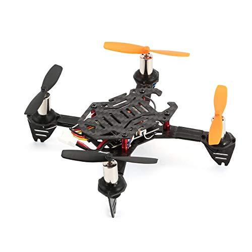 Ballylelly-RC Drohne Radiolink F110S Micro Racing Drohne Mini Quadcopter UAV mit R8FM Empfänger Kohlefaserrahmen High Speed BNF