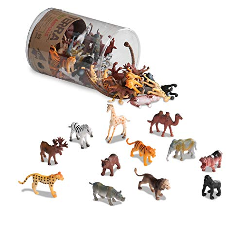 Assorted Miniature Animal Toys