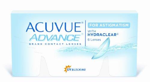 Acuvue Advance for Astigmatism 2-Wochenlinsen weich, 6 Stück / BC 8.6 mm / DIA 14.5 / CYL -1.25 / Achse 110 / 1.5 Dioptrien