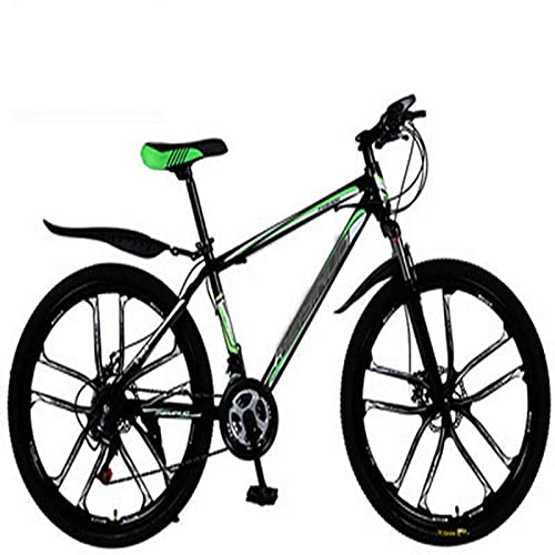 WXXMZY Lightweight 24-speed, 27-speed Mountain Bikes, Strong Aluminum Frame, Cross-country Bikes, Carbon Fiber Male And Female Variable Speed Bikes (Color : E, Inches : 24 inches)