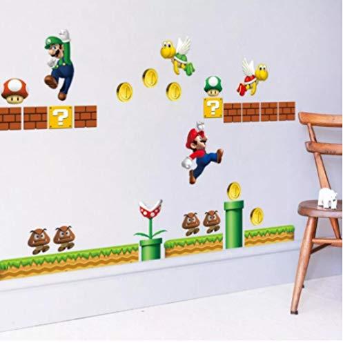 Wandsticker Wandaufkleber 3D Abnehmbare Abziehbilder Vinyl Art Kids Nursery Decor läuft Seitenwandaufkleber 30 * 90 CM