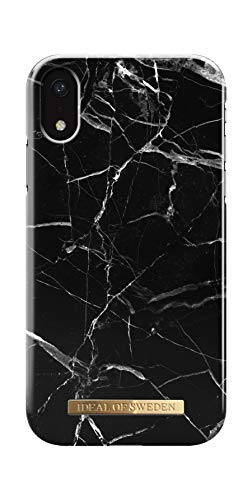 iDeal Of Sweden Handyhülle für iPhone XR (Black Marble)