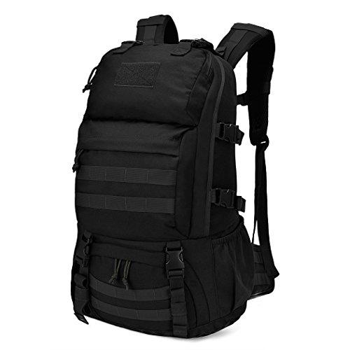 Mardingtop 40L Mochila Militar/Táctica Molle/Acampada/Camping/Senderismo/Deporte/Backpack de Asalto Patrulla