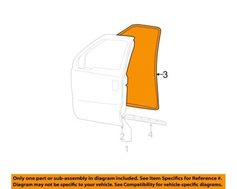 Genuine Ford 3C3Z-2520708-AA Door Weatherstrip
