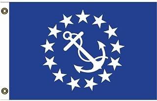 yacht club commodore flag