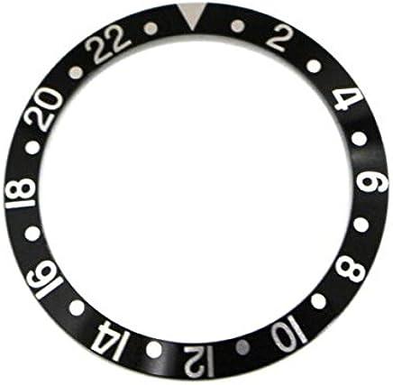 圧入式ベゼルインサート(黒)★ROLEX GMT用 【当店オリジナル商品(※全5タイプ)】