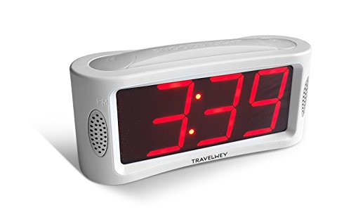 LED Digital Alarm Clock - No Frills Simple Operation, Large...