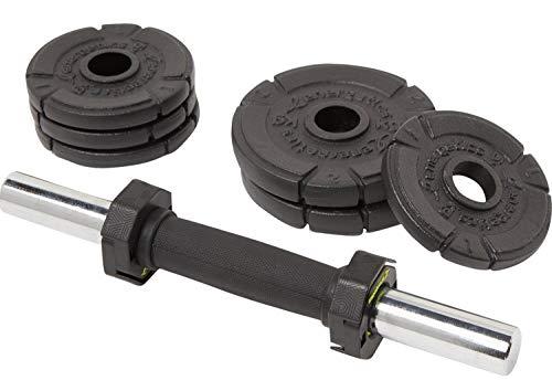 ENERGETICS Kurzhantel-Set Premium 10kg Cast Ir SCHWARZ