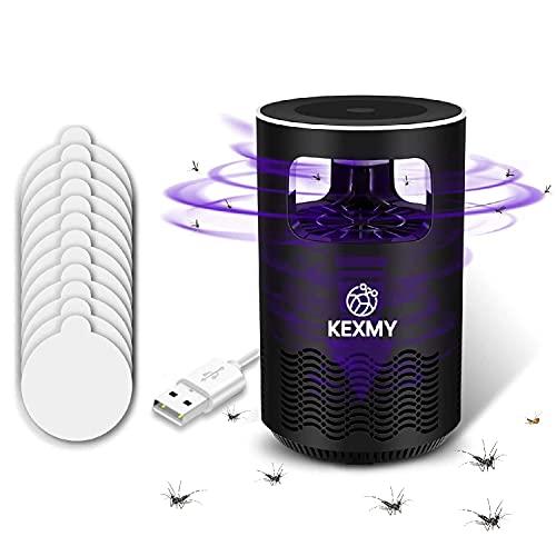 HJLGG Trampa de Mosquitos-lámpara asesina de Mosquitos-Trampa de Moscas-matamoscas eléctrico-lámpara Repelente de Mosquitos-Mosca de la Fruta Asesino de Insectos-Trampa de Insectos Azul