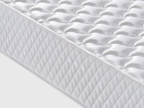 Dagostino Home Matelas Florida - 140X190 à mémoire de Forme | 20 cm Épaisseur | Foam AirSistem | Extrêmement Durable | Certification Oeko - TEK