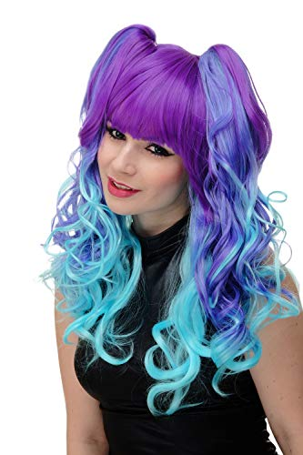 comprar pelucas azul turquesa on-line