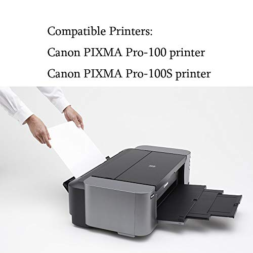 ArtiTech CLI-42 BK Pixma Pro-100 Compatible Ink Cartridges Replacement for Canon CLI42 CLI-42 Black Ink Cartridge Work for Pixma Pro-100S Printers,2 Pack CLI-42 BK Photo #3