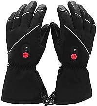 Savior Heated Gloves for Men Women, Rechargeable Electric Heated Gloves ,Heated Skiing Gloves and Snowboarding Gloves