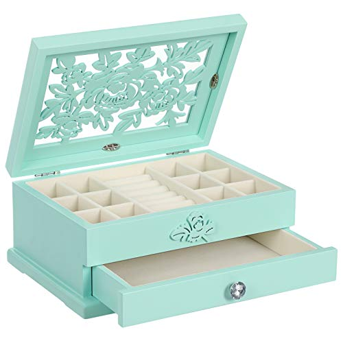 SONGMICS Girls Jewelry Box...