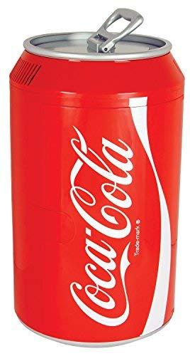 Coca-Cola Koolatron CC12 Can-Shaped 12-Can-Capacity Fridge, Red