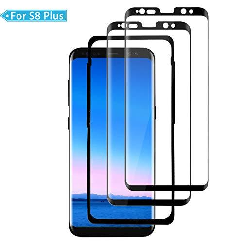 FANYAN Galaxy S8 Plus Protector de Pantalla, [2 Pack] [9H Dureza] [Anti Dactilares] [Cobertura Completa] Protector Cristal Templado para Samsung Galaxy S8 Plus