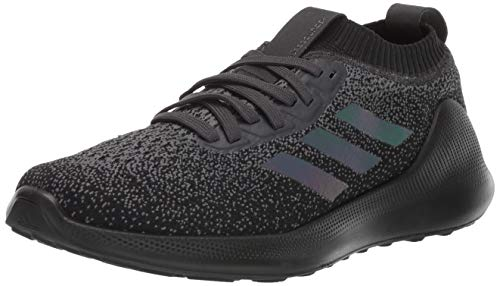 adidas Men's PureBounce+ Running Shoe, Carbon/Core Black/Core Black, 10 M US