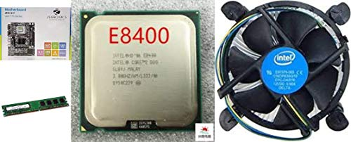 Zebronics Motherboard Kit With 3.0 Ghz Intel Core2 Duo CPU, 2GB DDR2 RAM & Processor Fan