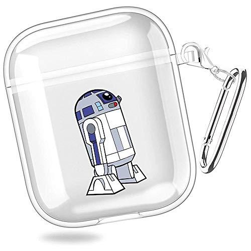 huijiameikeji r d c po Anakin Skywalker Clone Wars Star Wars Transparent Shell Case Cover for AirPods 1 2 XTBD-537