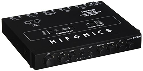 Hifonics HFEQ 4-Band EQ/2-Way Cr...