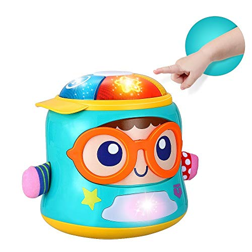 INSOON Infant Toys Baby Musical Toys for 6 12 18 Month Old Boys Girls Electronic Toys with Lights and Sounds Musical Toys for Infant Early Learning Educational Baby Toys for 1 Year Old Gift