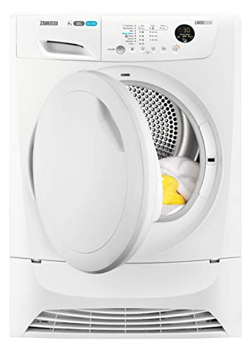 Zanussi ZDH8903PZ Freestanding Heat Pump Tumble Dryer, 8kg Load, White