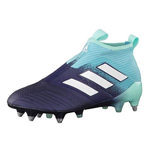 adidas Herren Ace 17+ Purecontrol Sg Fitnessschuhe, Mehrfarbig (Aquene/Ftwbla/Tinley), 45 1/3 EU