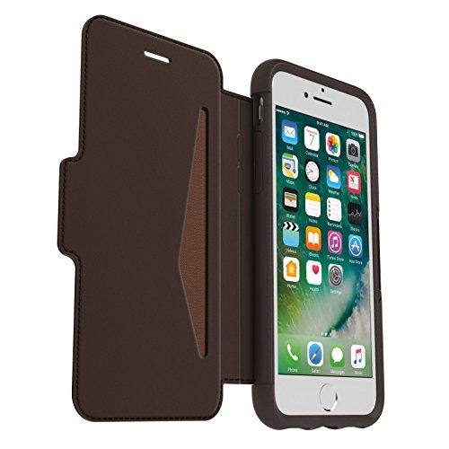 Otterbox Strada Etui en Cuir véritable Antichoc Fin / élégant pour iPhone 7 / 8 Marron Expresso
