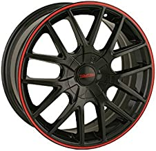 Touren TR60 3260 Wheel with Black Finish with Red Ring (20x8.5