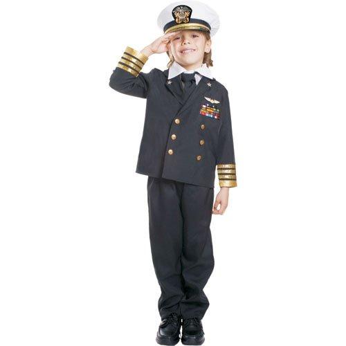 Dress Up America Costume d'amiral de la marine pour enfant