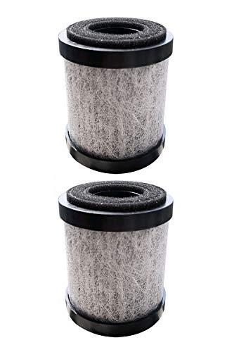 trettitre Purificador de aire portátil, fuerte luz UV con filtro H13 True HEPA para aromaterapia, elimina el olor de humo...
