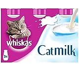 Whiskas Latte per Gatti 3 x 200 ml (Confezione da 5)