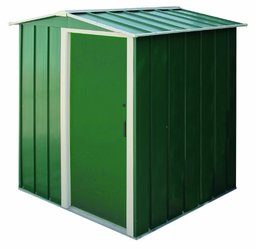 Tepro Duramax Metallgerätehaus Eco, grün/weiß, 122.1x161.7x181.9 cm, 7228