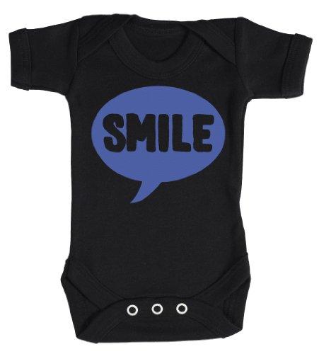 Baby Buddha - SMILE Bodys bébé 0-3 Mois Noir