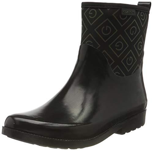 GANT Footwear Damen RAINEA Gummistiefel, Black, 36 EU