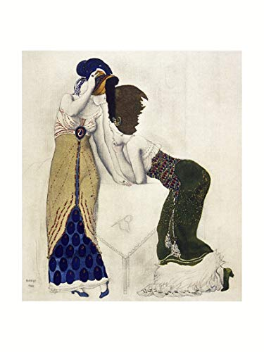Leon Bakst - Costume study 1910 Print 60x80cm