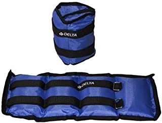 Delta Elite Dura-Strong Ayak Ağırlığı, Mavi, 2 X 0.5 kg